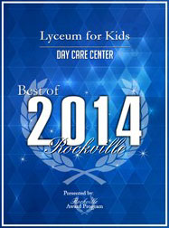 Best Day Care of Rockville 2014 Award